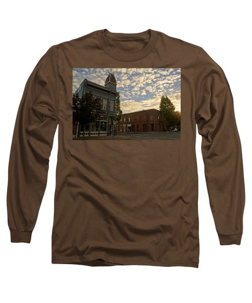 Late Afternoon At The Corner Of 5th And G Long Sleeve T-Shirt