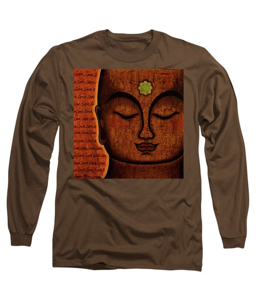 Long Sleeve T-Shirt featuring the painting Love by Gloria Rothrock