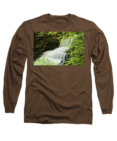 Loyalsock Waterfall Long Sleeve T-Shirt