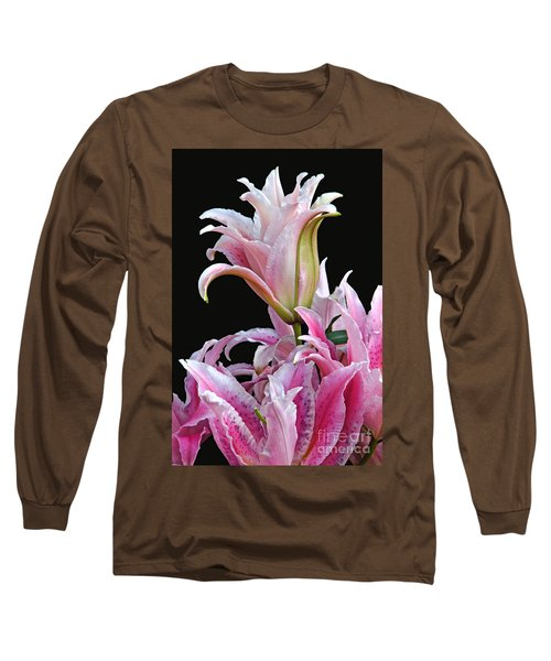 Luscious Lilies Long Sleeve T-Shirt