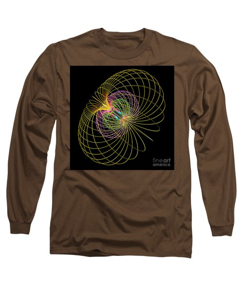 Magnetism 2 Long Sleeve T-Shirt by Russell Kightley