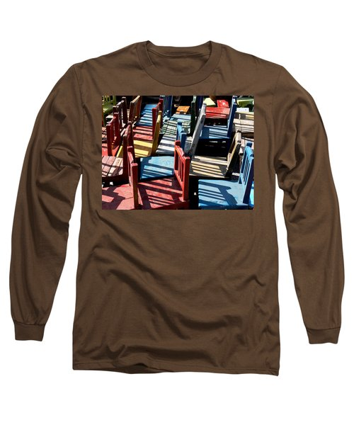 Many Seats For Learning Long Sleeve T-Shirt by EricaMaxine  Price