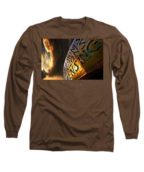 Long Sleeve T-Shirt featuring the photograph Millennium Drama by Meirion Matthias