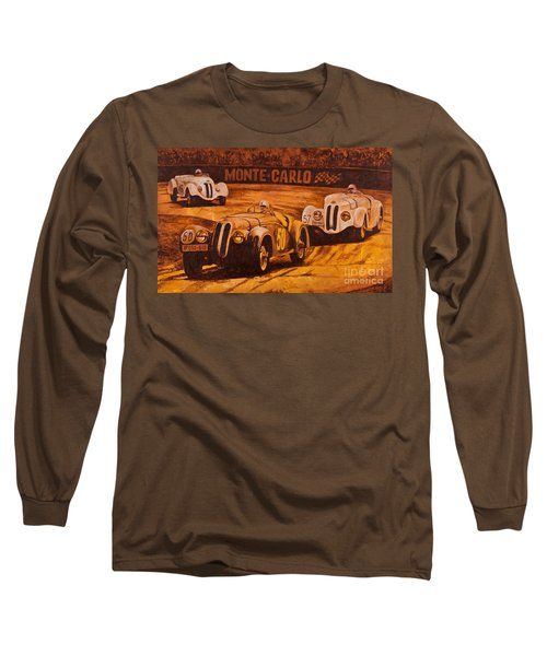 Long Sleeve T-Shirt featuring the painting Monte-carlo 1937 by Igor Postash