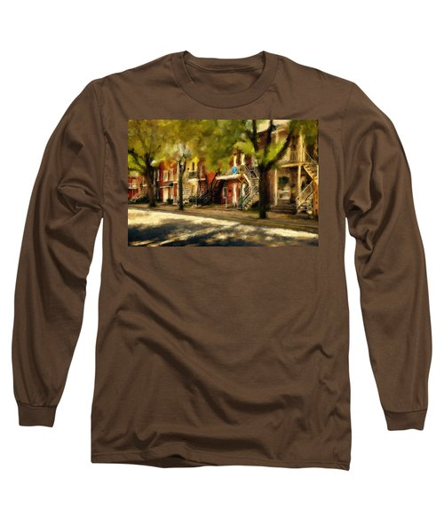 Montreal Street Long Sleeve T-Shirt