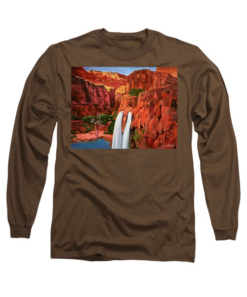 Morning In The Canyon Long Sleeve T-Shirt