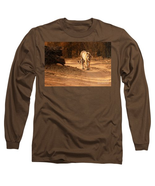 Long Sleeve T-Shirt featuring the photograph Morning Stroll by Fotosas Photography