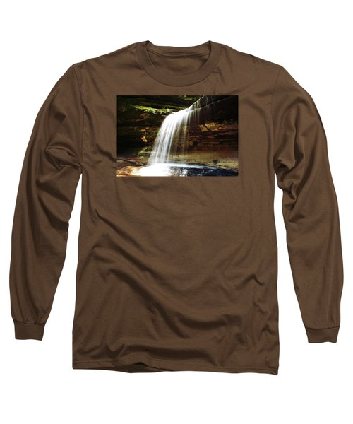 Long Sleeve T-Shirt featuring the photograph Nature In Motion by Milena Ilieva
