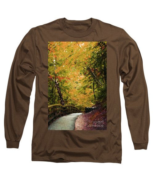 Long Sleeve T-Shirt featuring the photograph Nature In Oil  by Deniece Platt