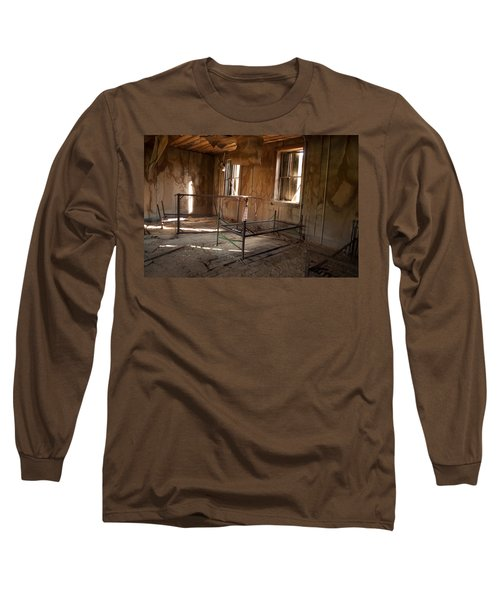 Long Sleeve T-Shirt featuring the photograph No More Time To Sleep by Fran Riley