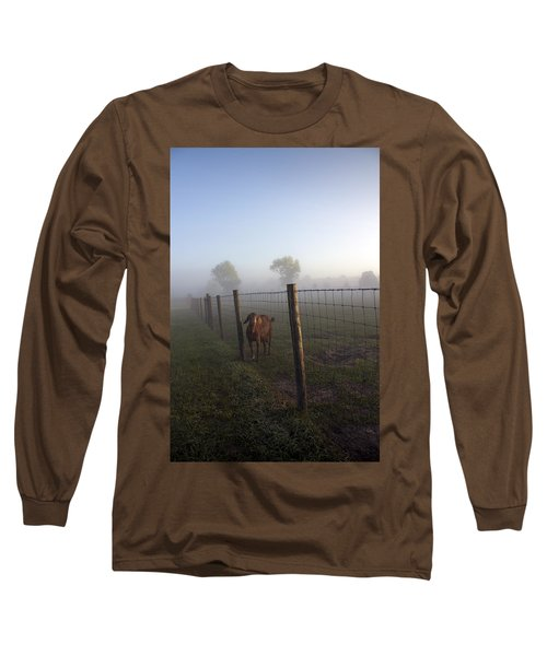 Long Sleeve T-Shirt featuring the photograph Nubian Goat by Lynn Palmer