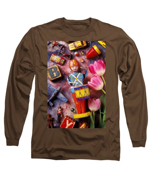 Old Childrens Toys Long Sleeve T-Shirt