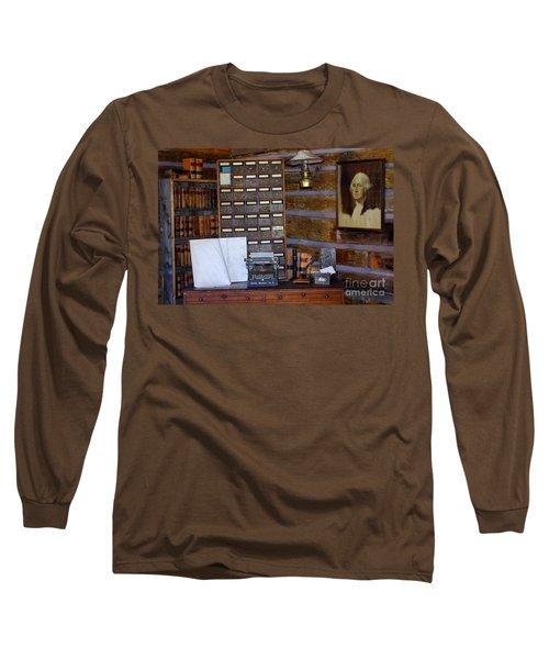 Long Sleeve T-Shirt featuring the photograph Old West 3 by Deniece Platt