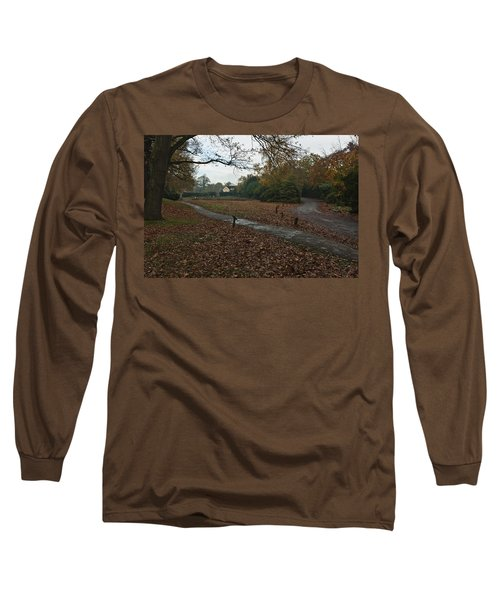 Long Sleeve T-Shirt featuring the photograph Park Cottage 2 by Maj Seda