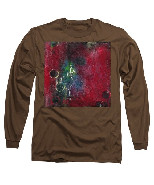 Long Sleeve T-Shirt featuring the painting Passion 3 by Nicole Nadeau