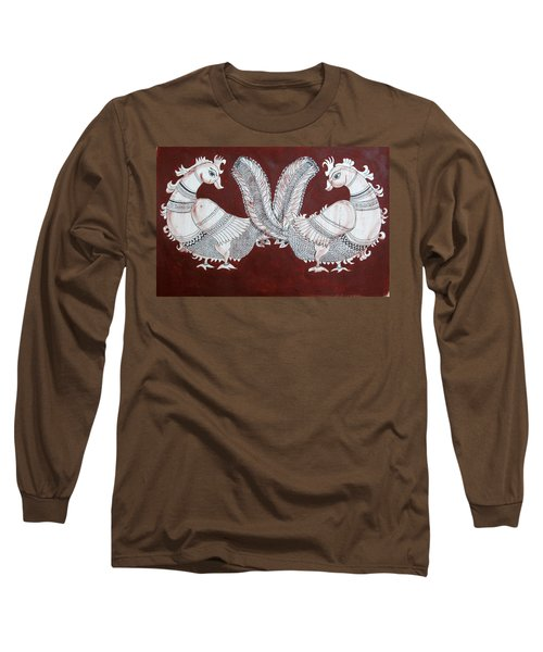 Peacocks Long Sleeve T-Shirt