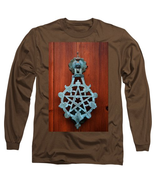 Pentagram Knocker Long Sleeve T-Shirt