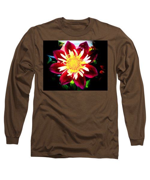 Personally Dahlia Long Sleeve T-Shirt by Lisa Brandel