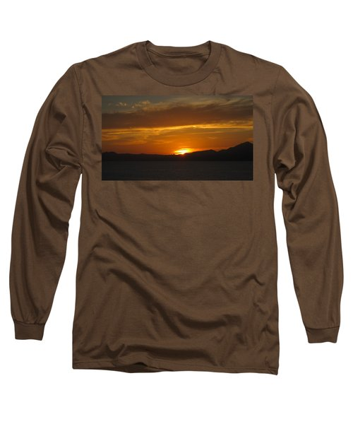 Long Sleeve T-Shirt featuring the photograph Puerto Vallarta Sunset by Marilyn Wilson