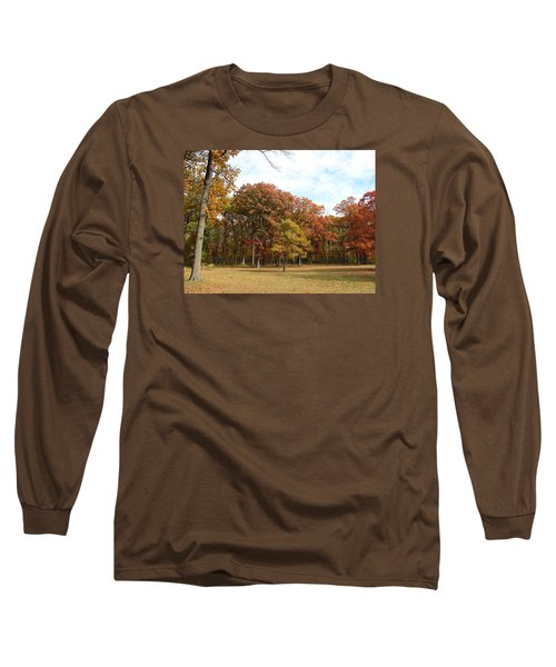 Quiet Forest 2 Long Sleeve T-Shirt by Cedric Hampton