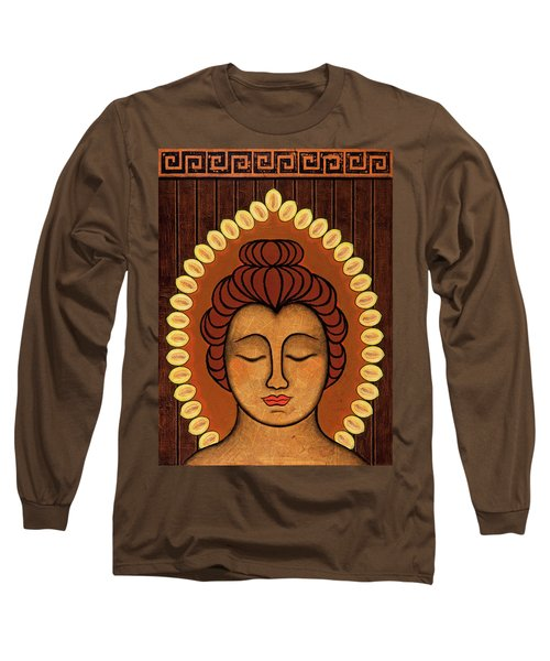 Long Sleeve T-Shirt featuring the painting Radiant Peace by Gloria Rothrock