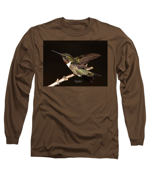 Long Sleeve T-Shirt featuring the photograph Ready Set Go Hummer by Randall Branham