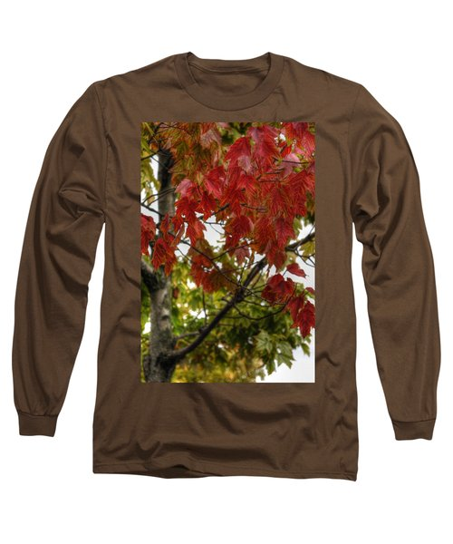 Long Sleeve T-Shirt featuring the photograph Red And Green Prior X-mas by Michael Frank Jr