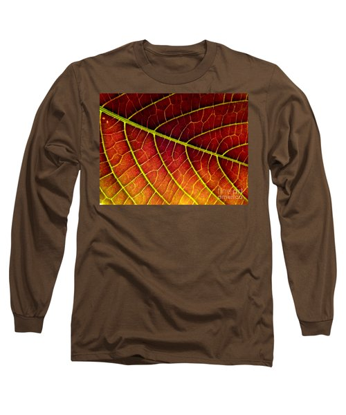 Red Leaf Long Sleeve T-Shirt