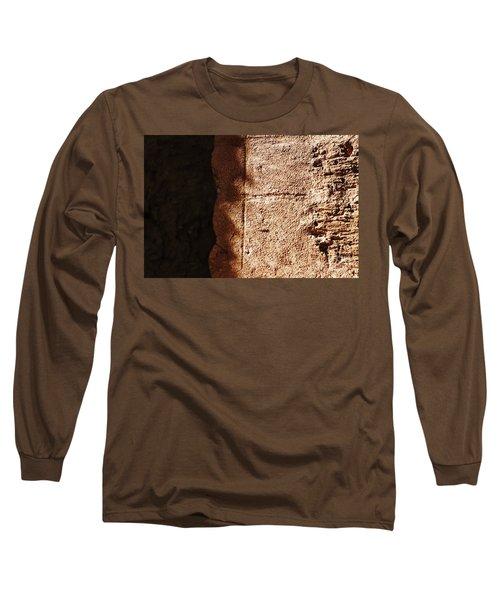 Red Texture Long Sleeve T-Shirt