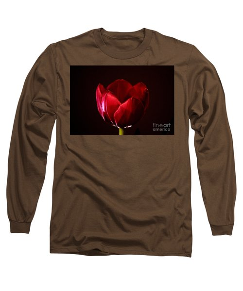 Red Tulip Long Sleeve T-Shirt