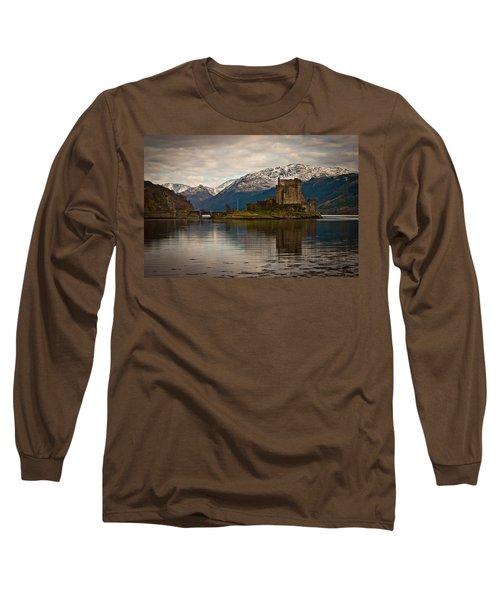 Reflection At Eilean Donan Long Sleeve T-Shirt