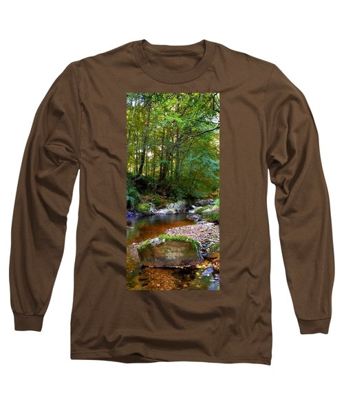 River In Cawdor Big Wood Long Sleeve T-Shirt