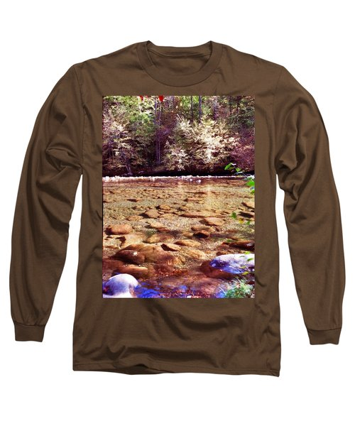 Long Sleeve T-Shirt featuring the photograph Rock Work by Janice Spivey