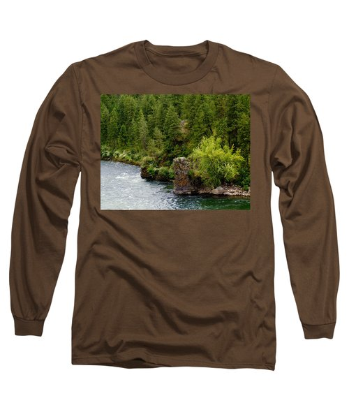 Rockin The Spokane River Long Sleeve T-Shirt
