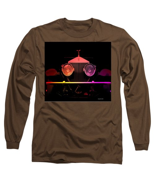Long Sleeve T-Shirt featuring the photograph Rolls Royce Smile by George Pedro