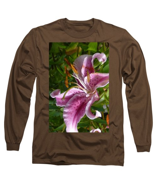Rubrum Lily Long Sleeve T-Shirt by Carla Parris