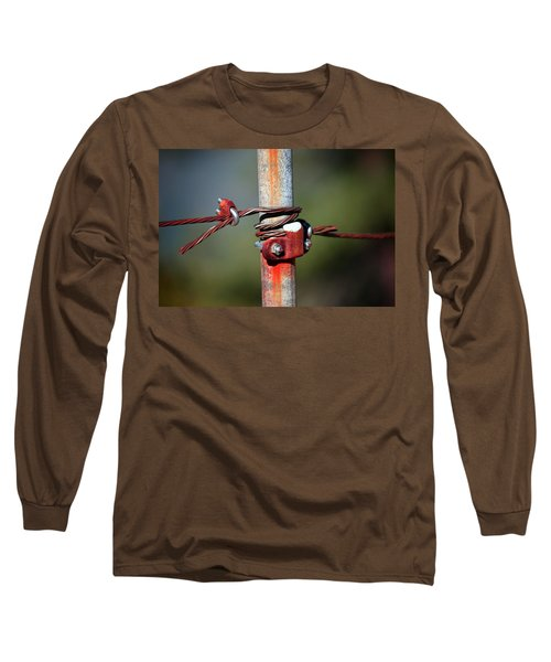 Rusted Fence Post 2 Long Sleeve T-Shirt