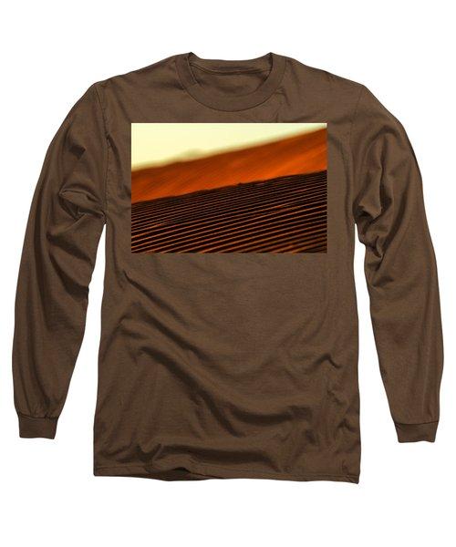 Sand Rows Long Sleeve T-Shirt