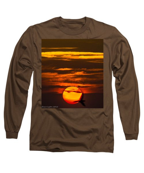 Setting Sun Flyby Long Sleeve T-Shirt