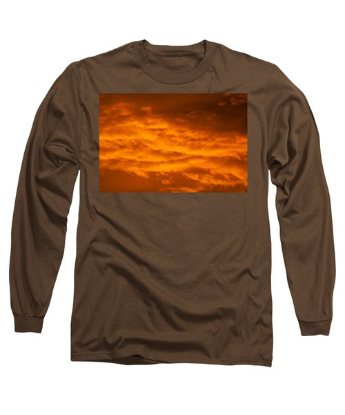 Sky Of Fire Long Sleeve T-Shirt