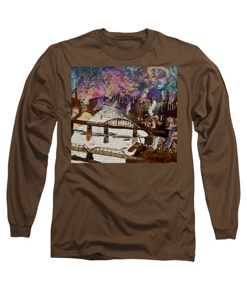 Sky Over The Allegheny Long Sleeve T-Shirt