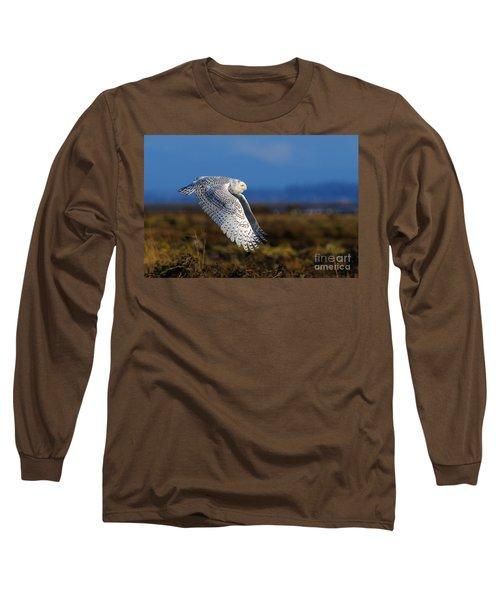 Snowy Owl 1b Long Sleeve T-Shirt