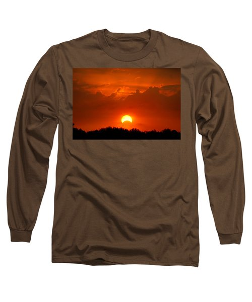 Solar Eclipse Long Sleeve T-Shirt