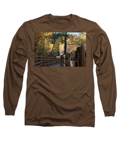 Spearfish Canyon Walkway Long Sleeve T-Shirt