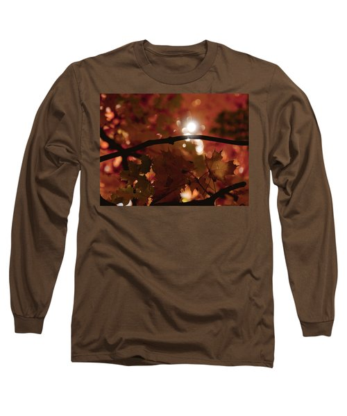 Long Sleeve T-Shirt featuring the photograph Spotlight On Fall by Cheryl Baxter