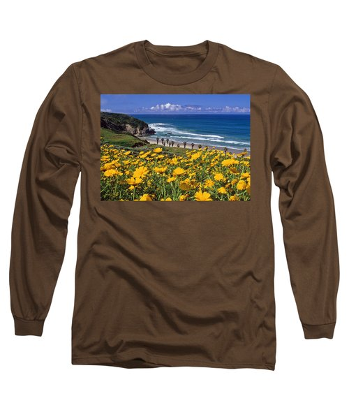 Springtime On The Headlands Long Sleeve T-Shirt