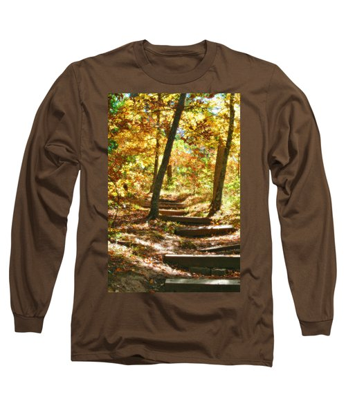 Long Sleeve T-Shirt featuring the photograph Stairway To Heaven by Peggy Franz