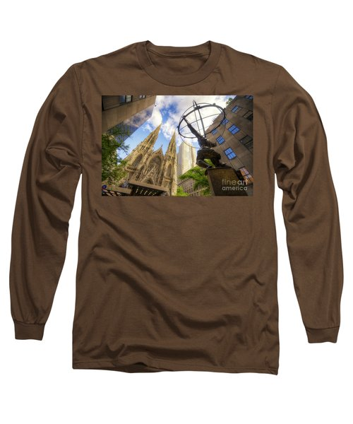 Statue And Spires Long Sleeve T-Shirt