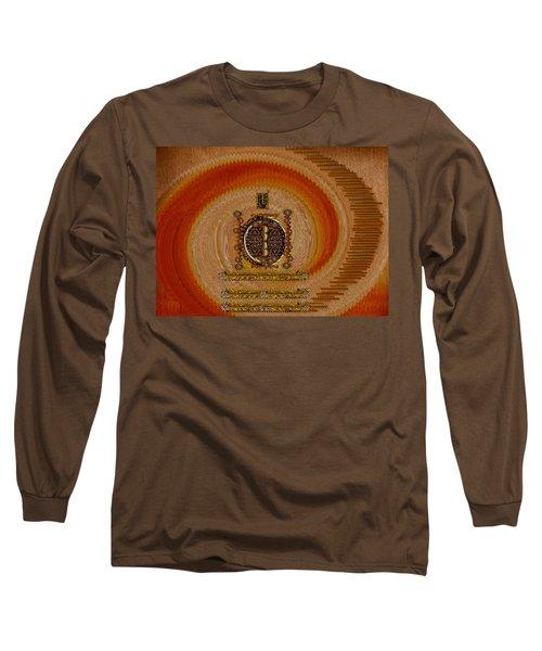 Step Into The Rainbow Temple Long Sleeve T-Shirt