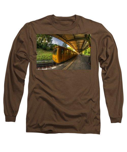 Summer Eveing Train. Long Sleeve T-Shirt